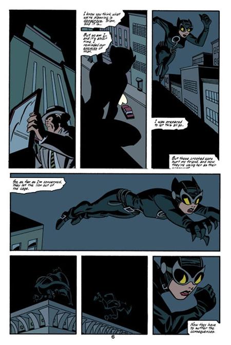 Catwoman E Brubaker B Rader R Burchett DC Comics C